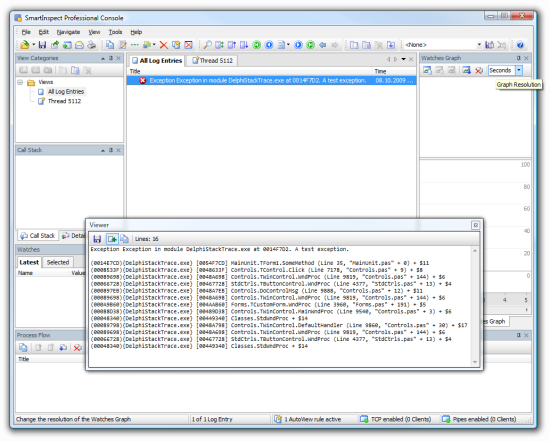 Working with Delphi's new Exception.StackTrace