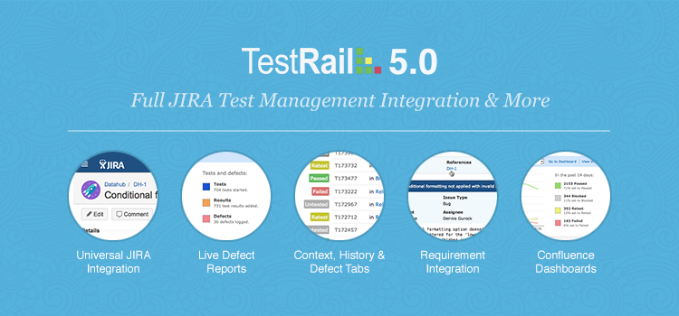 TestRail 5.0 – Full JIRA Test Management & More