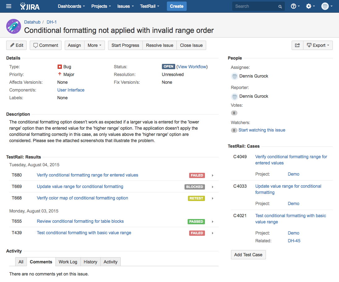TestRail 5.0 – Full JIRA Test Management & More – Gurock Quality Hub