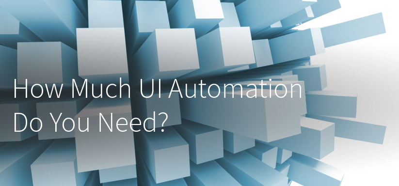 How Much UI Automation Do You Need? Software testing and automation. The software test pyramid. Finding the correct amount of UI automation.