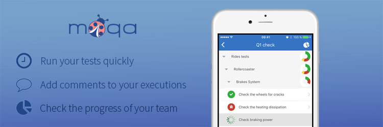 Real QA with TestRail and MoQA App. Software Testing Mobile Applicaions. TestRail Integration.