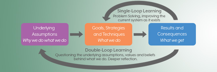 Agile approaches build in double-loop learning: the product backlog, the team's process, and the product itself. Software Testing. Feedback, double-loop learning, reflection, retrospectives. TestRail