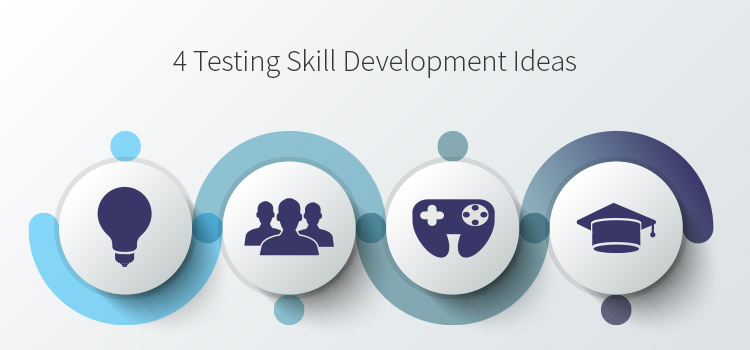 Growing Your Testing Skills. open source projects, training courses, skill development groups, games, online groups