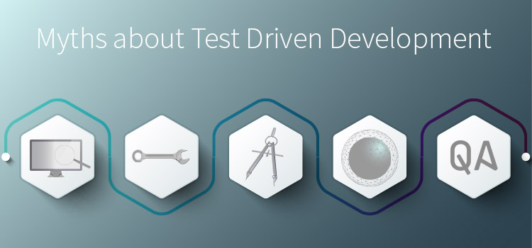 Myths about test driven development. TDD. Unit Testing. QA Strategy. Software Testing. TestRail