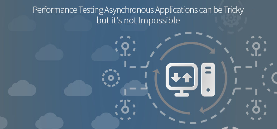 performance test an asynchonous application, testing asynchonous applications, performance testing , monitor application behavior, Software testing, Testrail.