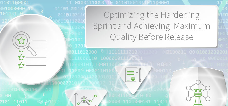 Using Hardening Sprints, Sprints in Scrum, Scrum, Release, Product Owner, Avoiding Technical Debt, Optimize Hardening Sprint, Maximum quality before release, QA. TestRail.