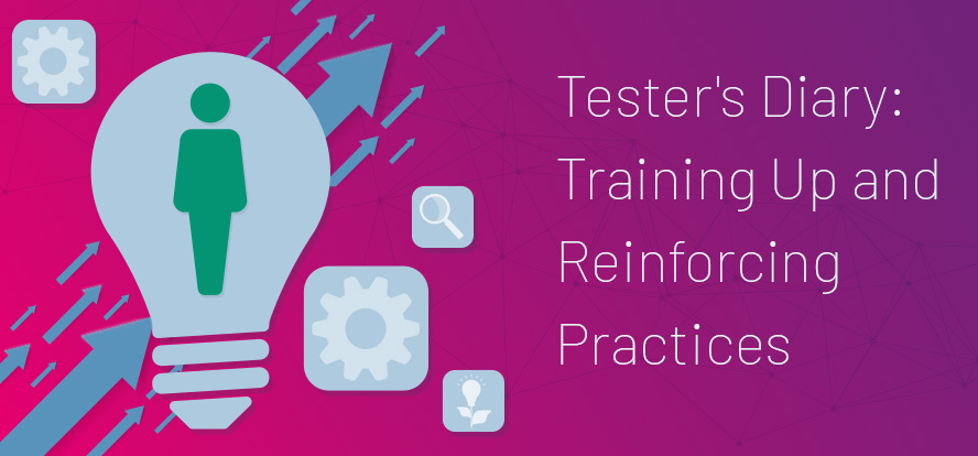 Adding a new team member, Software testing internship, Tester intern, Training new tester, Training testing intern, Changing team dynamics, Boosting test team productivity. TestRail.