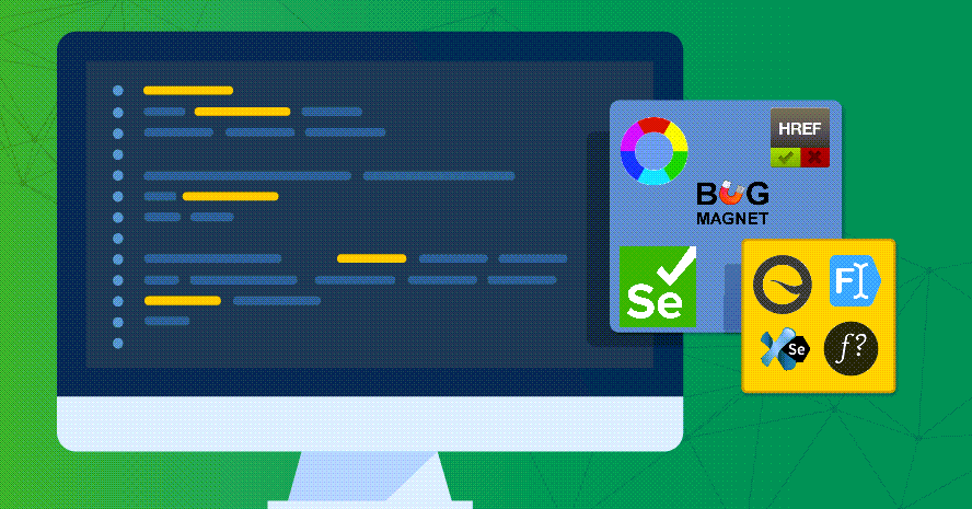 TestRail, computer screen with sticky notes